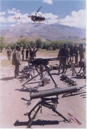 Kargil - Captured Pakistani weapons - 53 KB
